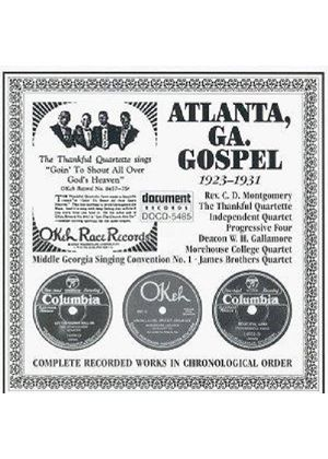 Various Artists - Atlanta Gospel 1925-1931