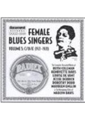 Various Artists - Female Blues Singers Vol.5 1921-1929