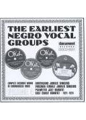 Various Artists - Early Negro Vocal Groups Vol.4 1921-1924