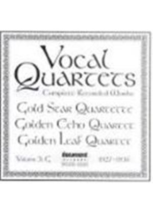 Various Artists - Vocal Quartets Vol.3 1927-1936