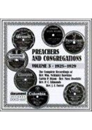 Various Artists - Preachers And Congregations Vol.3 1925-1929