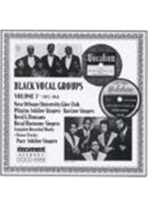 Various Artists - Black Vocal Groups Vol.7 1927-1941