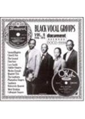 Various Artists - Black Vocal Groups Vol.8 1926-1935