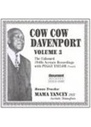 COW COW DAVENPORT - Unissued Private Acetate Recordings