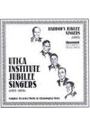 Utica Institute Jubilee Singers - Complete Recorded Works 1927-1929