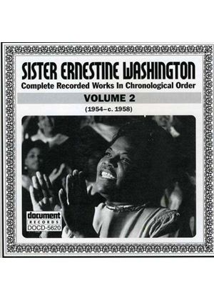 Sister Ernestine Washington - Sister Ernestine Washington Vol.2 1954-1958