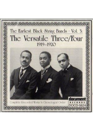 Versatile Three - Earliest Black String Bands Vol.3, The