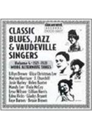 Various Artists - Classic Blues Jazz And Vaudeville Singers Vol.4 1921-1928
