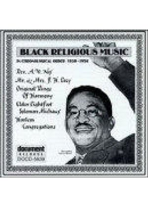 Various Artists - Black Religious Music 1930-1956