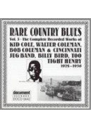 Various Artists - Rare Country Blues Vol.3 1928-1936