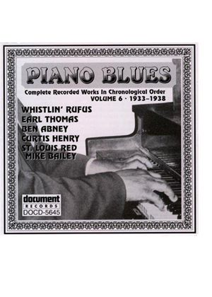 Various Artists - Piano Blues Vol.6 1933-1938