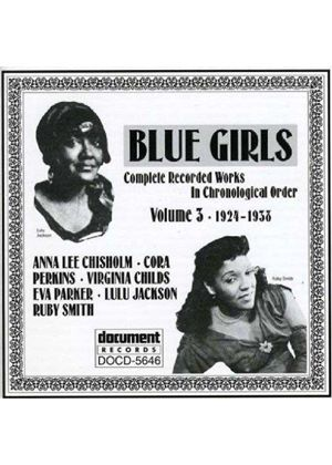 Various Artists - Blue Girls Vol.3 1924-1938