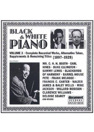 Various Artists - Black & White Piano Vol.3 (1897-1929)