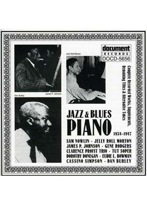 Various Artists - Jazz And Blues Piano 1934-1947
