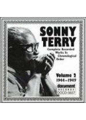 Sonny Terry - Complete Recorded Works Vol.2 1944-1949, The