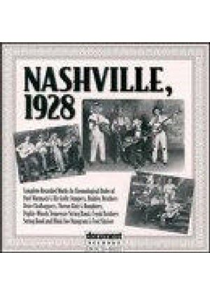 Various Artists - Nashville 1928