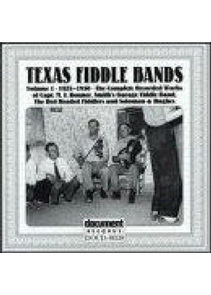 Various Artists - Texas Fiddle Bands Vol.1 1925-1930