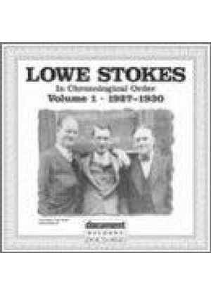 Lowe Stokes - In Chronological Order Vol.1 1927-1930