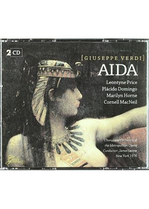 PRICE/DOMINGO - AIDA  (VERDI) 2CD