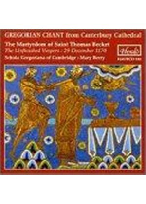 Gregorian chant from Canterbury Cathedral