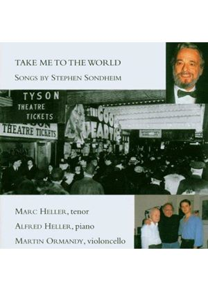 Sondheim Songs: Take me to the World