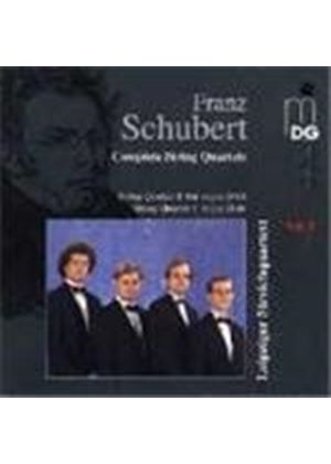 Schubert: String Quartets, Vol. 8