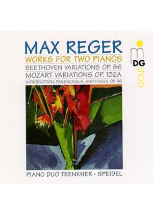 Reger - COMPLETE WORKS FOR TWO PIANOS