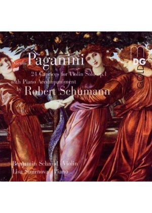 PAGANINI/SCHUMANN - 24 CAPRICES FOR VIOLIN SOLO OP1