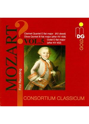Mozart: Attributed and Spurious Works, Vol 5
