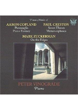 Copland;Creston; Zuckerman: Piano Works