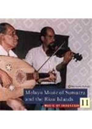 Various Artists - Indonesia - The Music Of Indonesia Vol.11 (Melayu Music Of Sumatra/Riau Isles: Zapin/Mak Yong/Mendu)