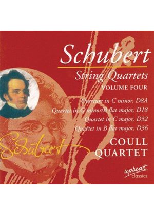 Schubert: String Quartets, Vol 4