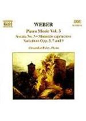 Weber: Piano Works, Vol. 3