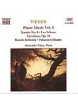 Weber: Piano Works, Vol. 4