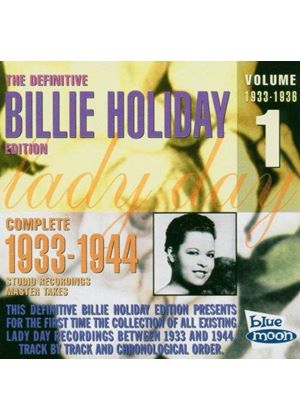 Billie Holiday - Definitive Edition Vol.1 1936-1938, The