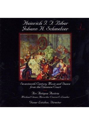 BIBER/SCHMELZER - 17th Century Music And Dance (Ars Antiqua Austria)