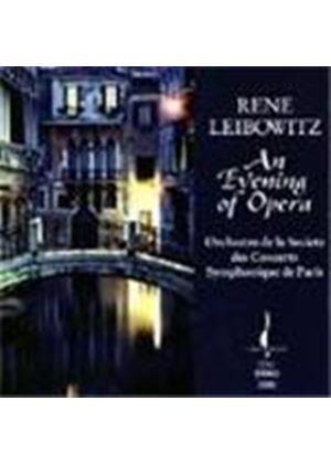 Rene Leibowitz: An Evening of Opera