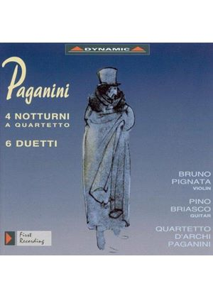 Paganini: Works for Strings