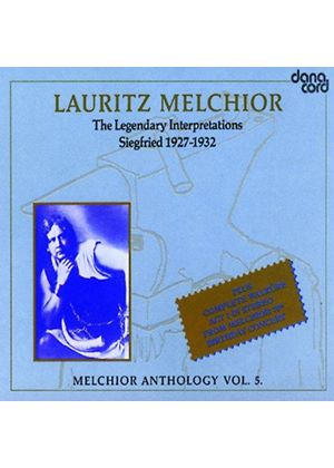 Lauritz Melchior - Anthology Vol. 5 [Danish Import]