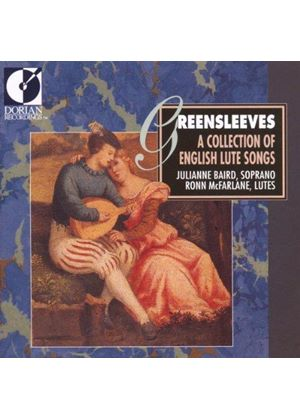 VARIOUS COMPOSERS - Greensleeves: A Collection Of Lute Songs (Baird, McFarlane)