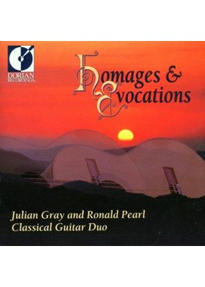 VARIOUS COMPOSERS - Homages And Evocations - Music For Two Guitars (Gray, Pearl)