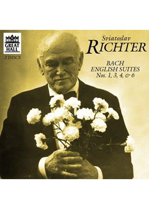 Bach: English Suites Nos 1, 3, 4 & 6