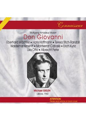 Wolfgang Amadeus Mozart - Don Giovanni (Gielen, Theatre Sao Carlos Of Lisbon Orch.)