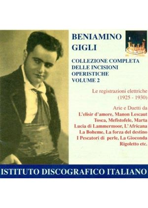 Beniamino Gigli Complete Collection, Vol 2