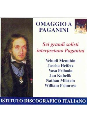 Paganini Interpretations by Great Violinists