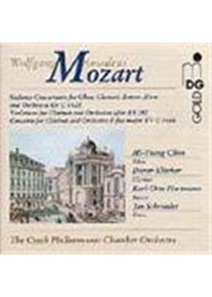 Mozart: Sinfonia Concertante; Variations after KV 382; Clarinet Concerto