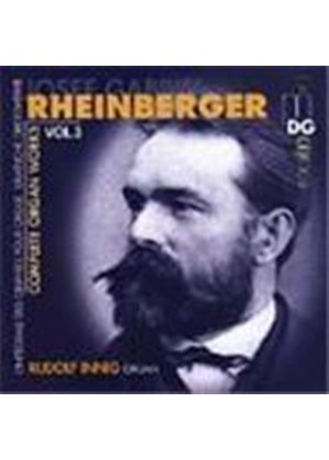 Rheinberger: Complete Organ Works, Volume 3