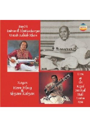Khan And Bhattacharya - Live At The Royal Fe