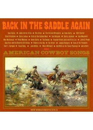 Various Artists - Back In The Saddle Again - American Cowboy Songs