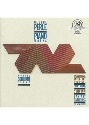 George Perle - Piano Works